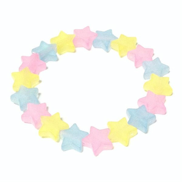 Dusty Rainbow Shooting Star Bracelet in Mix from Pastel Skies