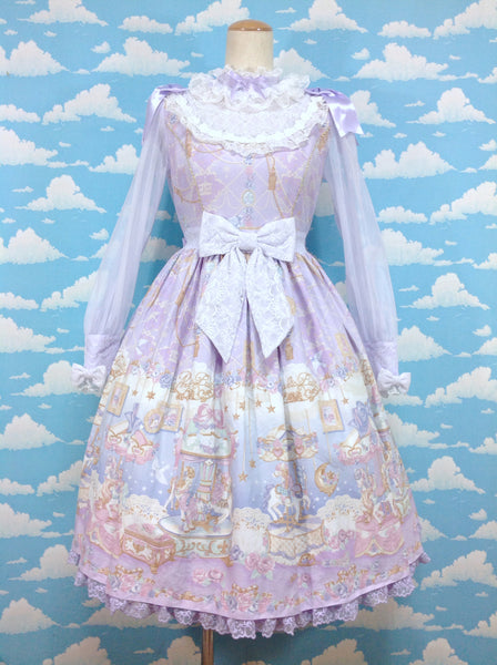 Eternal Carnival OP (One Piece) in Lavender from Angelic Pretty