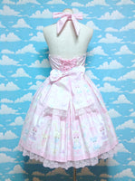 Fancy Paper Dolls JSK With Collar in Pink from Angelic Pretty