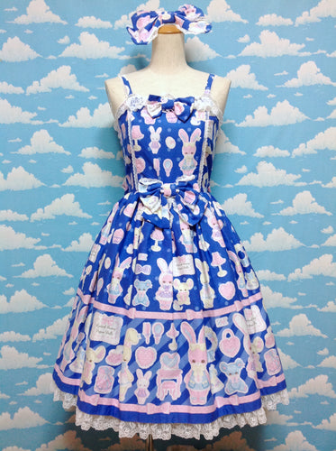 Fancy Paper Dolls Special Set in Blue from Angelic Pretty