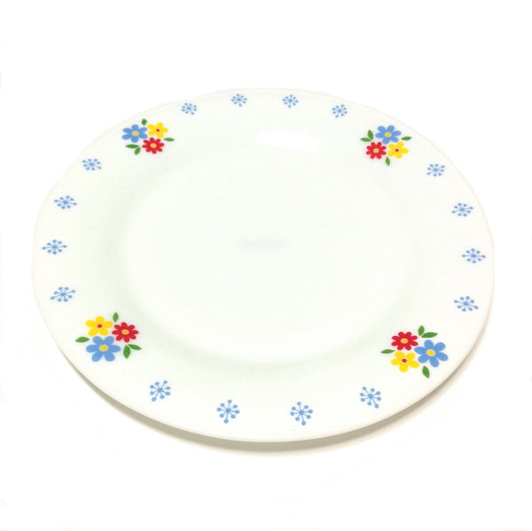 Flower Print Plate in White from Chocoholic