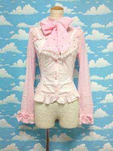 Prince-like Blouse in Pink from Angelic Pretty