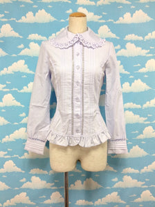 Cotton Sugar Blouse (132B8-6623) in Lavender from Angelic Pretty