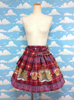 Royal Crown's Tea Package Skirt in Wine/Bordeaux from Alice and the Pirates