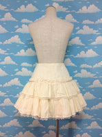 Nostalgic Karami Skirt in Cream from Angelic Pretty