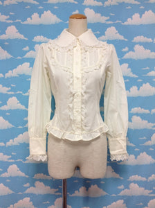 Marjolaine Blouse in Beige from Innocent World