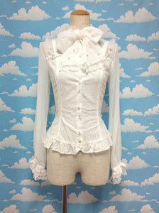 Prince-like Blouse in White from Angelic Pretty