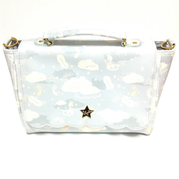 Fuwa Print 2-Way Bag (Sky) from SWIMMER