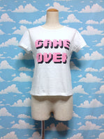 Game Over Pixel Cutsew in White from Browny