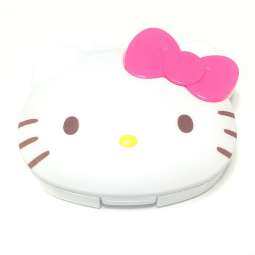 Hello Kitty Earphone Case in White x Pink from Sanrio