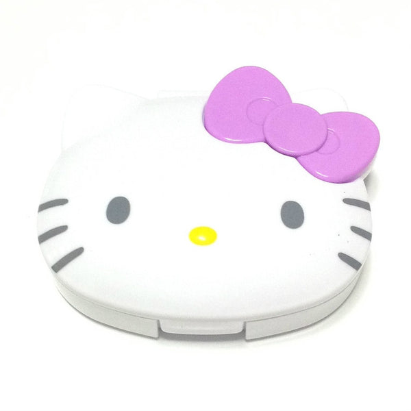 Hello Kitty Jewelry Case in White x Lavender from Sanrio