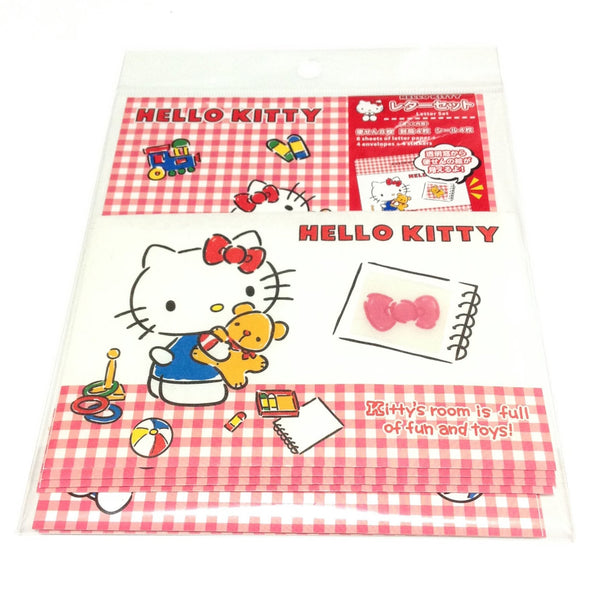 Hello Kitty Letter Set in Red from Sanrio