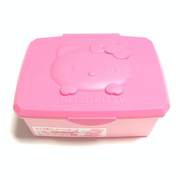 Hello Kitty Makeup Sheet Case/Box in Pink from Sanrio