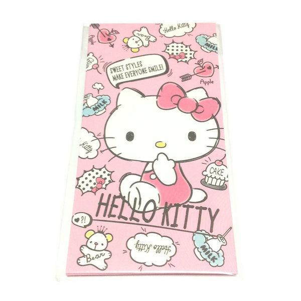 Hello Kitty Wallet Type Petite Envelope and Sticker Set from Sanrio