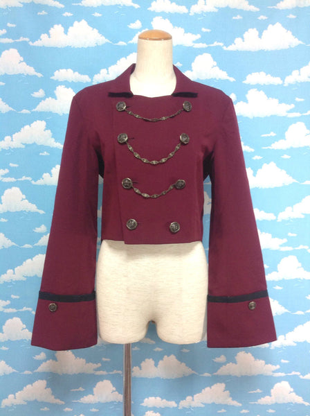 Swallow-tail Jacket in Bordeaux from Atelier Boz