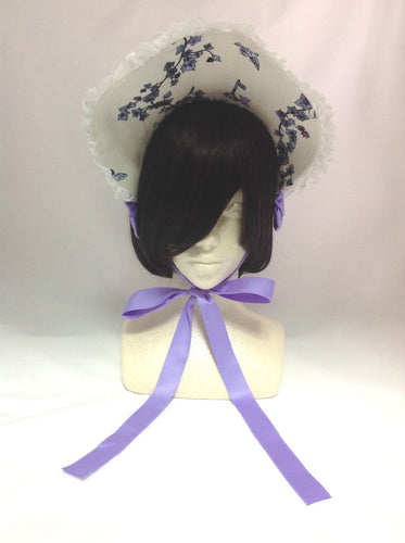 Scent of Rapunzel Bonnet in Offwhite x Lavender from Alice and the Pirates