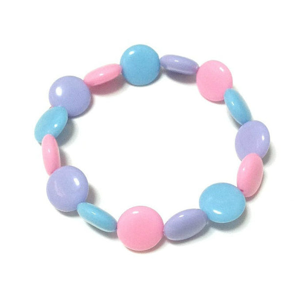 Polka Dot Bracelet in Mix (Pink x Sax x Lavender) from Pastel Skies