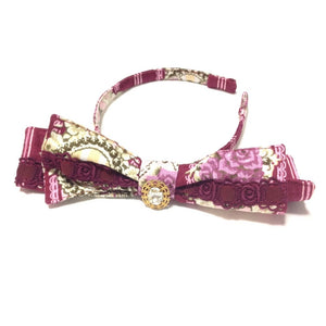 Queen's Coach Ribbon Head Bow in Red from Alice and the Pirates