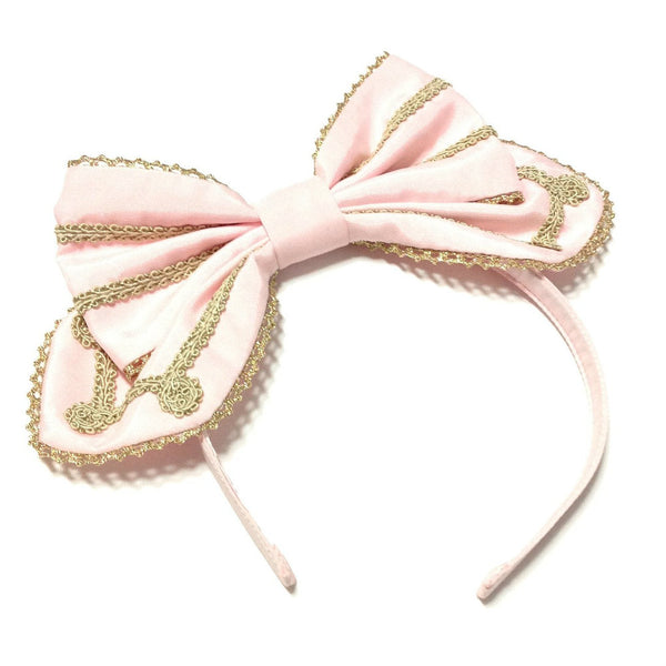 Cute Braid Head Bow in Pink from Angelic Pretty