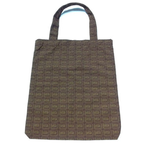 Chocolate Tote Bag in Brown from Q-Pot (B)