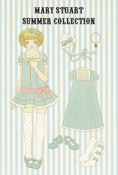 Mary Stuart Summer Collection Postcard in Sax (Mary Stuart x Imai Kira)