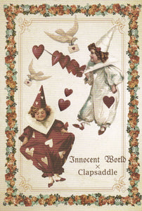 Pierrot with Sword Postcard from Innocent World x Clapsaddle
