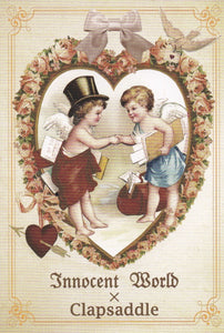 Big Heart, Angels at Work Postcard from Innocent World x Clapsaddle