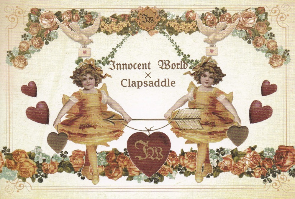 Two Small Ballerinas Postcard from Innocent World x Clapsaddle