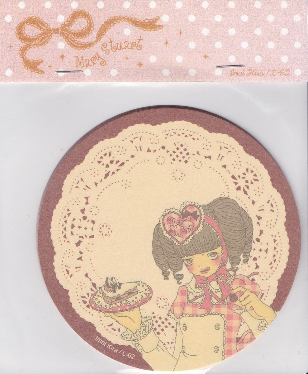Sweets Coasters in Brown (Mary Stuart x Imai Kira, L62)
