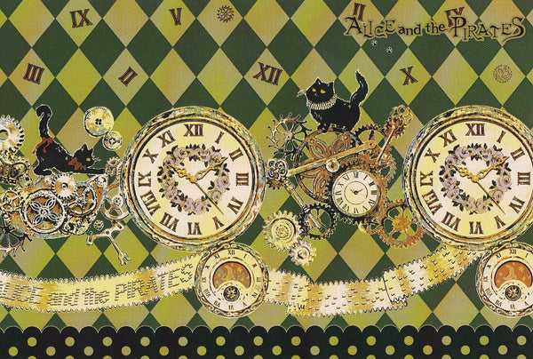 [Clockwork Aristo Kitty] Print Postcard from Alice and the Pirates