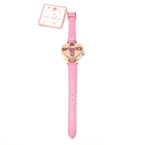 Magical Jewel Wrist Watch in Pink from SWIMMER