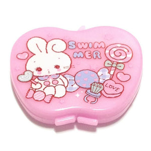 Petite Dress Up Apple, Comb, and Mirror Set (Bunny) from SWIMMER