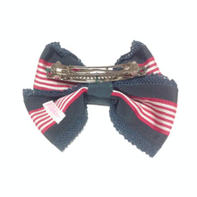 Striped Ribbon Line Barrette in Green from Angelic Pretty