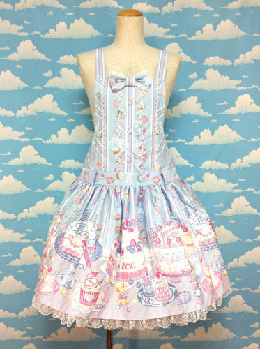 Whip Factory Salopette in Sax from Angelic Pretty
