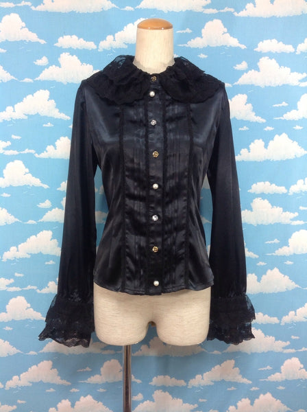 Carolyne Blouse in Black from Baby, the Stars Shine Bright