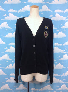ALICE and the PIRATES School Cardigan (2008) in Black from Alice and the Pirates