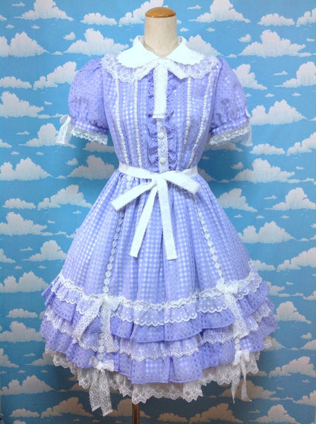 Margaret Doll OP (One Piece) in Lavender from Angelic Pretty