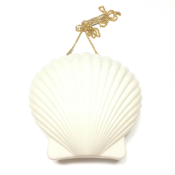 Shell Mobile Pochette in White from Bubbles