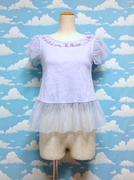 Sugar Dream Doll Cutsew in Lavender from Angelic Pretty