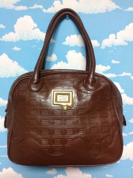 Royal Chocolate Plated Boston Bag in Brown from Angelic Pretty (C/D)