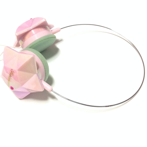 Aurora Star Headphones in Light Pink from SWIMMER