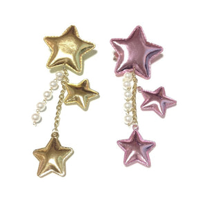 2-Way Star Clip/brooch in Pink from Chocomint