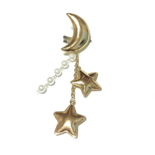 2-Way Moon Clip/brooch from Chocomint