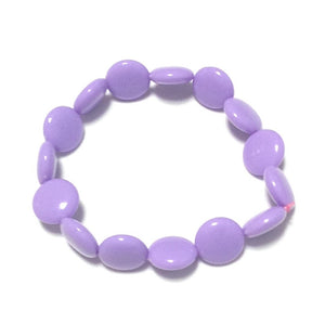 Polka Dot Bracelet in Lavender from Pastel Skies