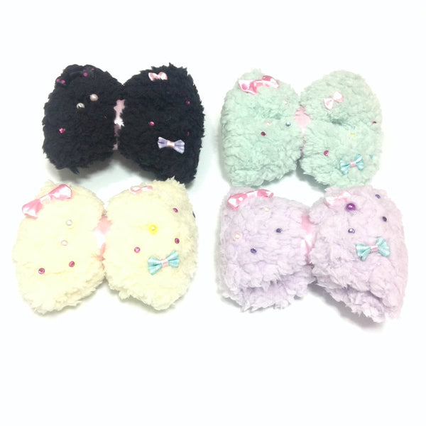 Mokomoko 2-way Brooch and Hairpin (Several colors) from Chocomint