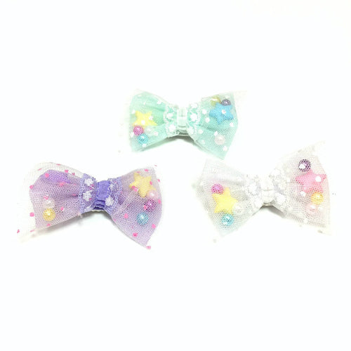 2-way Starry☆sky Clip  (Several colors) from Chocomint