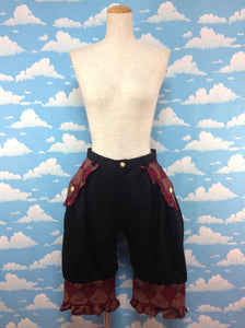 Holiday of the Hulim Hulum Brass Band Pants in Red from Alice and the Pirates