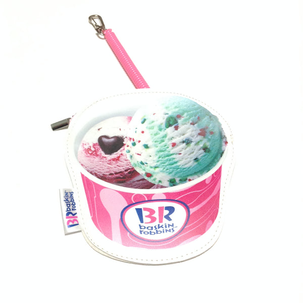 Ice Cream Coin Purse and IC Card Case from Baskin Robbins