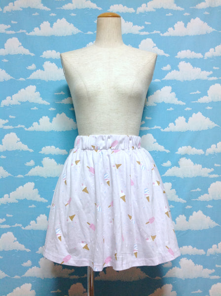 Ice Cream and Sprinkles Skirt in Lavender from SPINNS