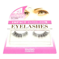Impact Eyelashes (No. b 02) from DAISO Cosmetics